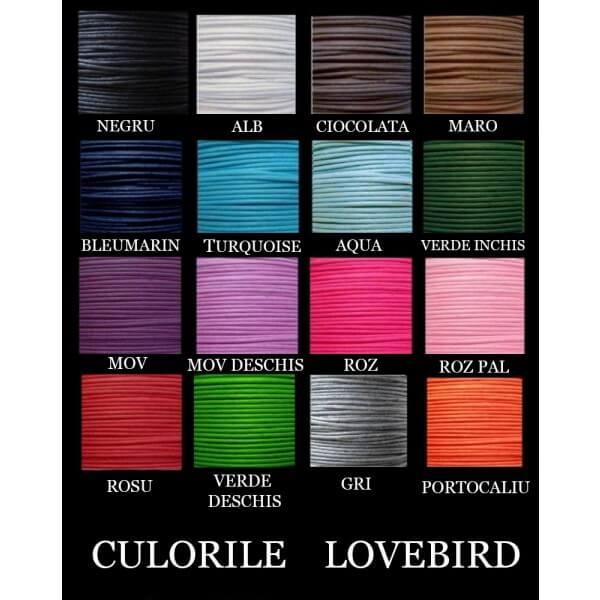 bijuterie personalizata culori snur