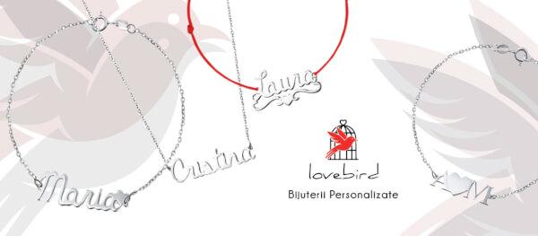 bijuterie personalizata lovebird