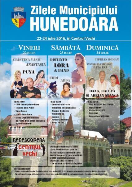 zilele municipiului hunedoara 2016