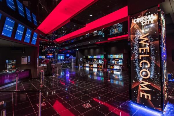 Cinema city room